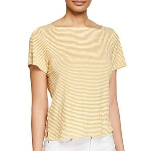 EILEEN FISHER Women's Top Size S/P ORGANIC LINEN